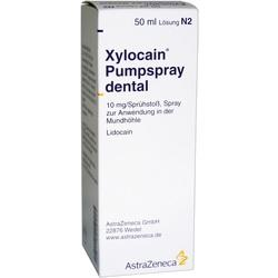 XYLOCAIN PUMPSPRAY DENTAL